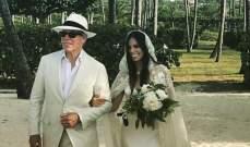 آلي هيلفيغير تتألق كغجرية في حفل زفافها