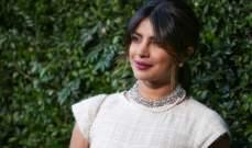 بريانكا شوبرا في اوّل تصريح لها بعد اعلانها عن موعد زفافها