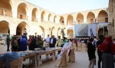 إفتتاح خان العسكر في طرابلس برعاية ثلاث وزارات