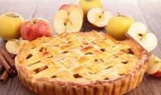 طريقة سهلة لتحضير فطيرة التفاح بالقرفة