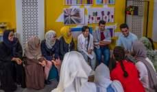 """محمد عساف يزور مشتركي """"تحدي القراءة العربي"""""""