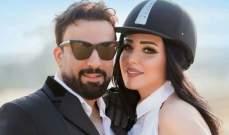 عبير صبري تحتفل بزواجها وسط الاصدقاء - بالفيديو