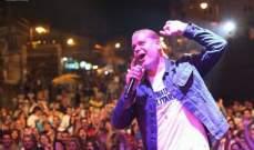 هاني العمري يتألق بمهرجانات عيد المغتربين في ضهور الشوير