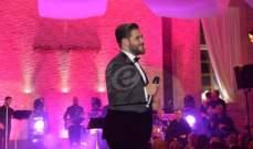 خاص بالصور- هذا ما قاله محمد المجذوب عن حفلته مع نجوى كرم