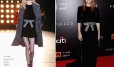 الفستان المخملي الأسود خيار جوليان مور من سان لوران