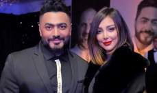 ديو يجمع تامر حسني وبسمة بوسيل في عيد ميلاد إبنتيهما-بالفيديو