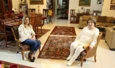 بالفيديو- شيراز فرحات شبيب تتحدث عن السيوف التي كانت موجودة على صدر