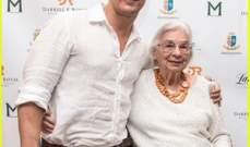 ماثيو ماكونهي يحتفل بعيد ميلاد سيدة بعمر الـ90