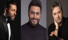 مروان خوري وتامر حسني وزياد برجي وغيرهم.. نجوم بالكلمة واللحن والصوت