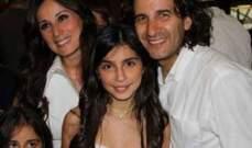 إبنة كارين رزق الله التي مثلت معها أصبحت شابة وغاية في الجمال - بالصور