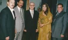 عبادي الجوهر في صورة نادرة مع سيمون أسمر وأحلام