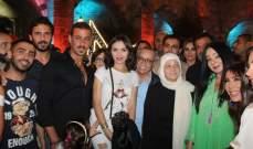 بهية الحريري تكرّم أسرة الباشا ضمن فاعليات صيدا مدينة رمضانية-بالصور