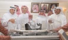 خالد المريخي يكرّم بدر بن عبد المحسن.. بالصور