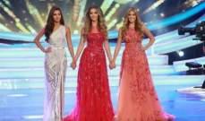 الوصيفة الأولى سينتيا صموئيل تمثّل لبنان في ملكة جمال الكون