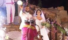 خاص الفن- جويل داغر ووسام حنا يتزوجان..بالصور