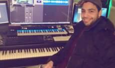 أحمد جمال يواصل تسجيل أغاني ألبومه الديني.. بالفيديو