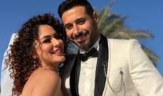 ندى موسى تعلق على خبر زواجها من أحمد السعدني