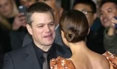 """مات ديمون واليشيا فيكاندر يفتتحان عرض """"Jason Bourne"""""""
