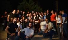 """أسرة مسلسل """"من الآخر"""" تحتفل بإنتهاء التصوير """