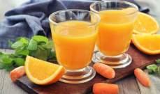 عصير طبيعي يغذي بشرتك في الصيف