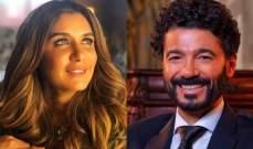 """خالد النبوي وغادة عادل معاً في """"قمر 14"""""""
