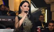 خاص بالصور- ليال عبود في إطلالة ساحرة في حفلها وتستعد لإطلاق أغنية جديدة