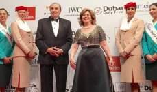 مهرجان دبي يشهد سقطة لإلهام شاهين في عالم الموضة
