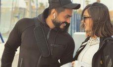بالصورة - بسمة بوسيل برد عنيف على شائعة زواج تامر حسني سريّا
