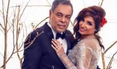 روجينا تشيد بمواقف وشهامة زوجها أشرف زكي- بالصورة