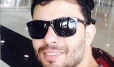 بالصورة.. ستار سعد من مطار دبي إلى بيروت