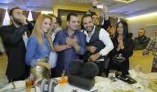 هكذا إحتفل المخرج أحمد المنجد بعيد ميلاده