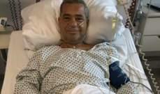 مصطفى الأغا يتعافى ويغادر المستشفى..بالصورة