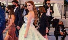 نسرين طافش تبهر متابعيها بإطلالتها الملكية في مهرجان كان السينمائي -بالصور