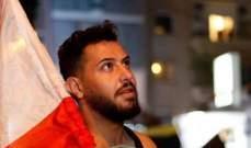 بعد إعتقاله... وسام حنا وأمل حجازي وبيتر سمعان يتضامنون مع الناشط الاجتماعي خلدون جابر