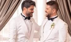 شقيق ناصيف زيتون يدخل القفص الذهبي .. إليكم هذه الصور من الزفاف