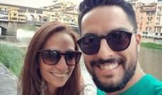 بالصورة- حسن الشافعي لزوجته: أنت أفضل صديقة لي