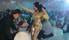 ليال عبود تحتفل بعيد الحب مع جمهورها.. بالصور