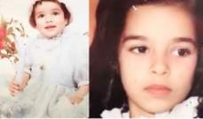 خمنوا من هي هذه الطفلة ممثلة لبنانية شهيرة