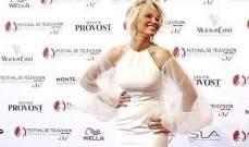 باميلا أندرسون رائعة الجمال في مهرجان تلفزيون مونتي كارلو