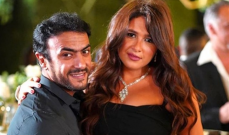 بالصورة- أحمد العوضي يحتفل بعيد ميلاد ياسمين عبد العزيز بطريقة رومانسية