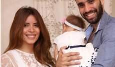 هكذا إحتفل أحمد الشامي بعيد ميلاد إبنته الأول.. بالصورة