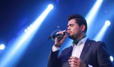 خاص بالصور- أوّل حفل غنائي لأمير دندن في فلسطين