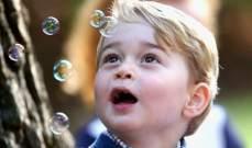 في عيده السادس..الأمير جورج يخطف الانظار بصور جديدة