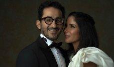 بالصورة - إطلالة أحمد حلمي مع منى زكي تلفت أنظار المتابعين