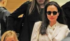 أنجلينا جولي تزور المكتبة برفقة اولادها في لندن