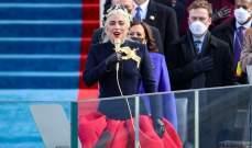 ليدي غاغا تؤدي النشيد الوطني الأميركي بعد تنصيب جو بايدن رئيساً-بالفيديو
