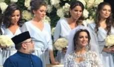 ملكة جمال روسية تشهر اسلامها لتتزوج ملك ماليزيا - بالصورة
