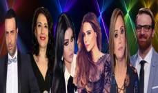 جوائز لهيفا وكارول وجوليا قصار..دوللي غانم خارج LBCI.. .هيثم زياد وفؤاد يمين إلى البرامج
