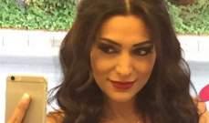 """مايا نصري تنتهي من تصوير """"السر"""" وتعود الى لبنان..بالصورة"""