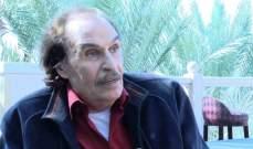 ظهور مفاجئ لـ عزت العلايلي في حفل عقد قران أحمد خالد صالح وهنادي مهنا-بالصورة